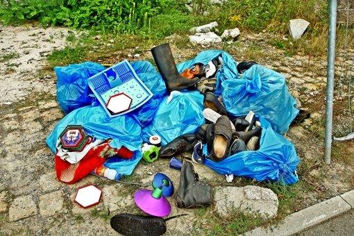 Ärger mit wildem Müll