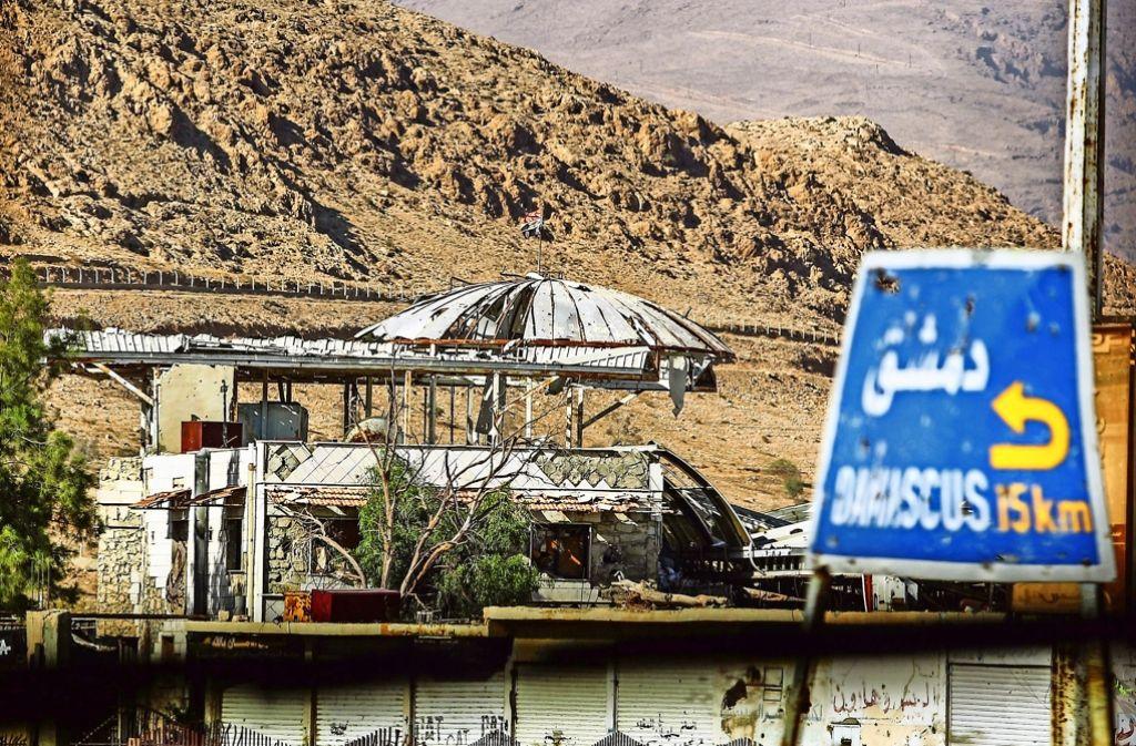 Der Bürgerkrieg in Syrien tobt weiter. Foto: EPA