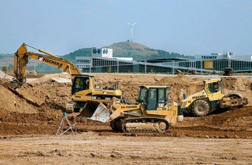 Die Thales-Baustelle in Ditzingen kommt voran. Foto: privat