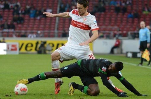 Auch Christian Gentner kann nicht verhindern, dass der VfB Stuttgart immer weiter in die Krise abrutscht. Foto: dpa