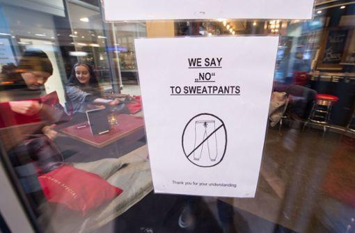 Schild aus Café ist reif fürs Museum