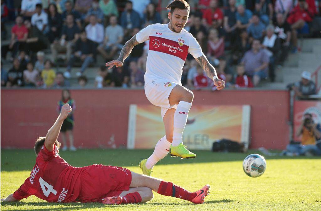 Der VfB Stuttgart hat gegen den FC Winterthur verloren. Foto: Pressefoto Baumann