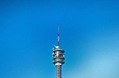Funkturm in neuem Gewand