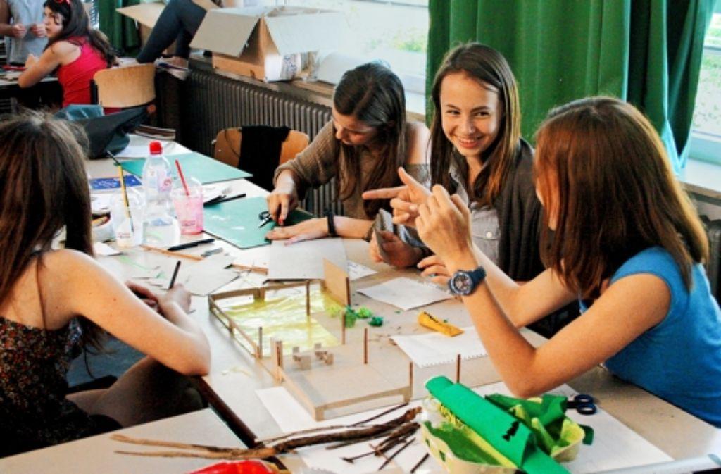 Jugendliche beteiligen sich an der Gestaltung ihrer Schule. Foto: privat