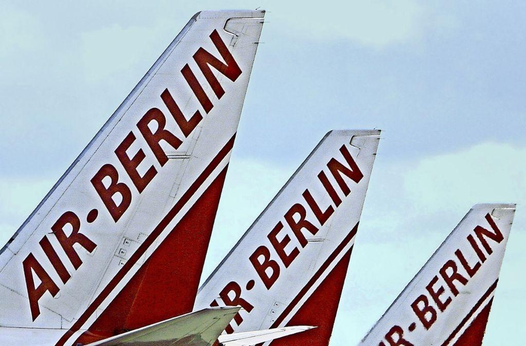 Air Berlin gehört zu den Fluggesellschaften, die als Präzedenzfall herangezogen wurden. Foto: dpa
