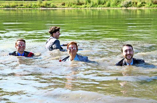 """Sprung ins Wasser  für """"Stausee 21"""""""