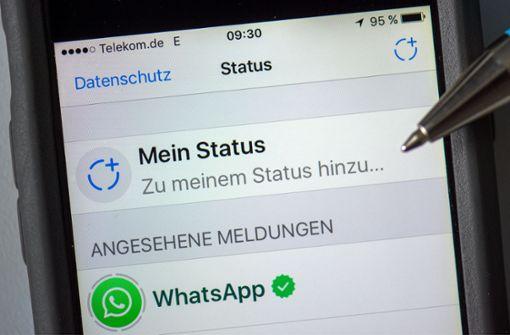 Wer nutzt eigentlich den Whatsapp-Status?