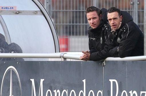 Was sich Michael Gentner vom VfB Stuttgart II für 2020 wünscht