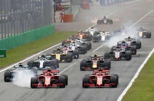Als die Formel 1 den Startplatz verloste