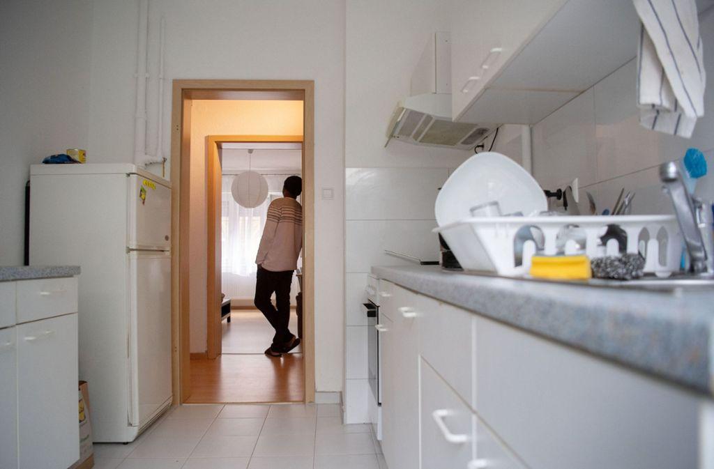 Seit etwas mehr als einem Jahr können männliche Opfer häuslicher Gewalt in Stuttgart in einer Schutzwohnung unterkommen. Foto: dpa