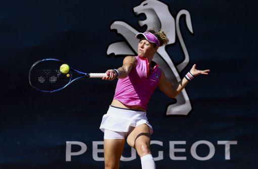 Laura Siegemund gewinnt bei Tennis-Neustart
