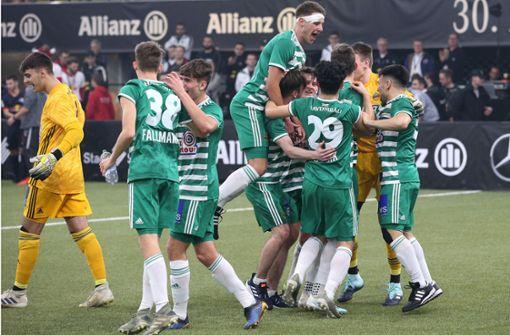 Rapid Wien holt sich den Titel in Sindelfingen