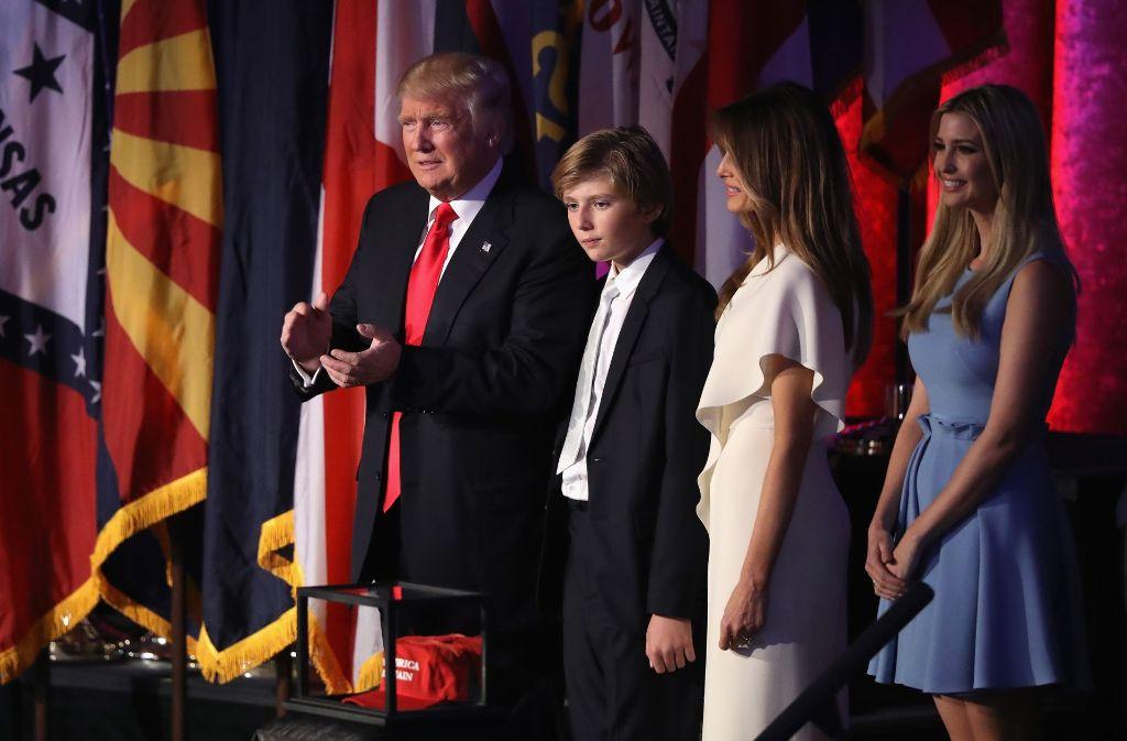 Donald Trump wird der 45. Präsident der Vereinigten Staaten.Foto:GETTY IMAGES NORTH AMERICA Foto:
