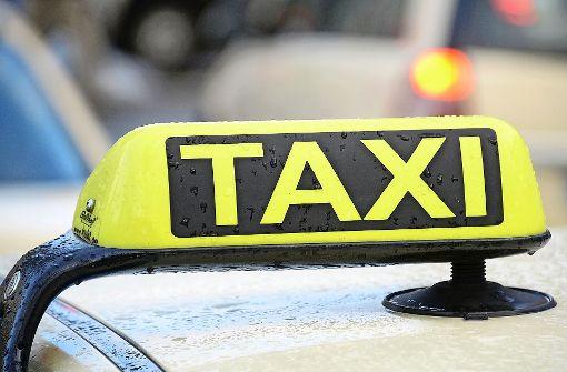 Polizei sucht rücksichtslosen Taxifahrer