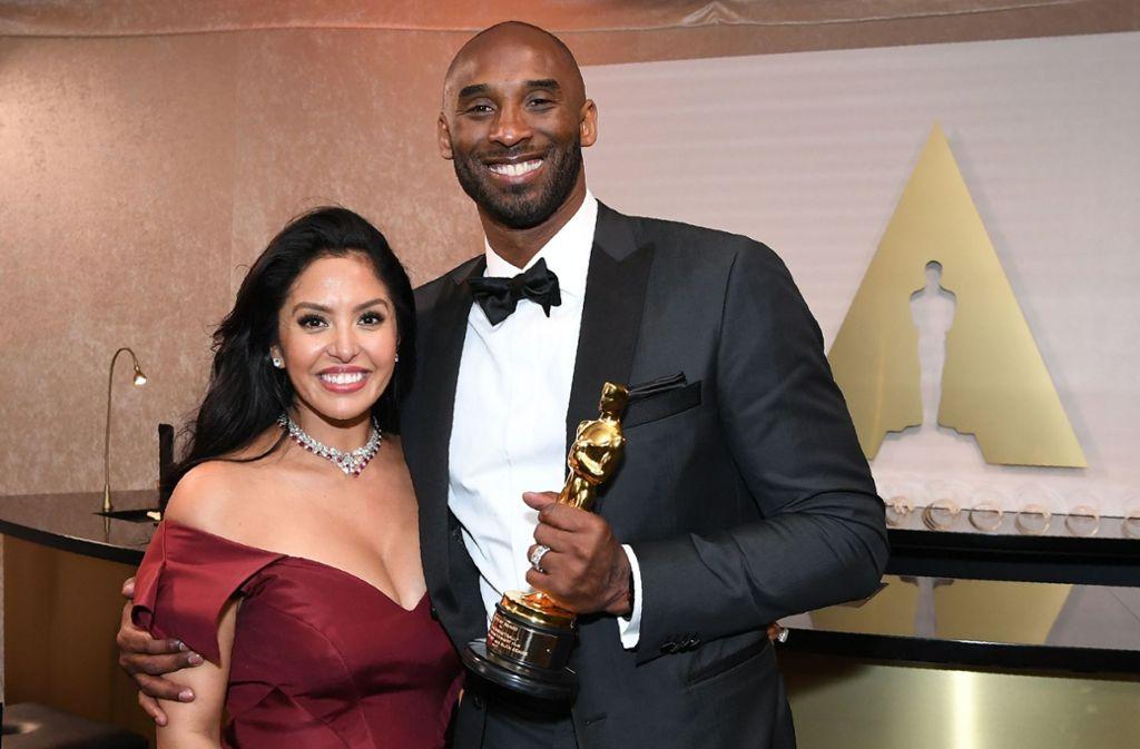 Kobe Bryant und seine Frau Vanessa waren seit 2001 verheiratet. Foto: AFP/ANGELA WEISS