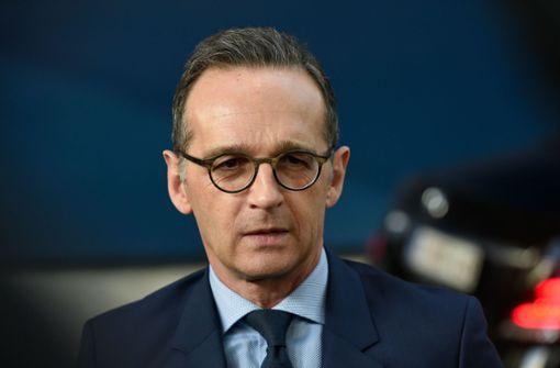 Heiko Maas für weitere Beteiligung Deutschlands