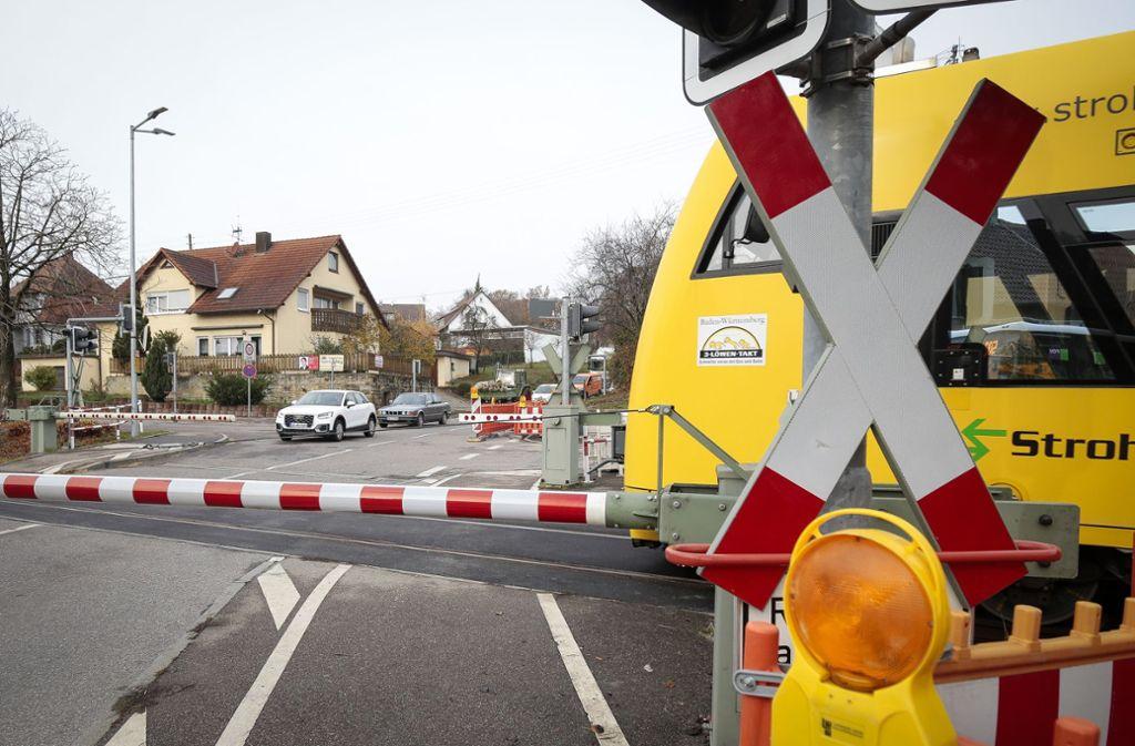 Die Strohgäubahn fährt nur bis Korntal und nicht nach Feuerbach. Foto: factum/Granville