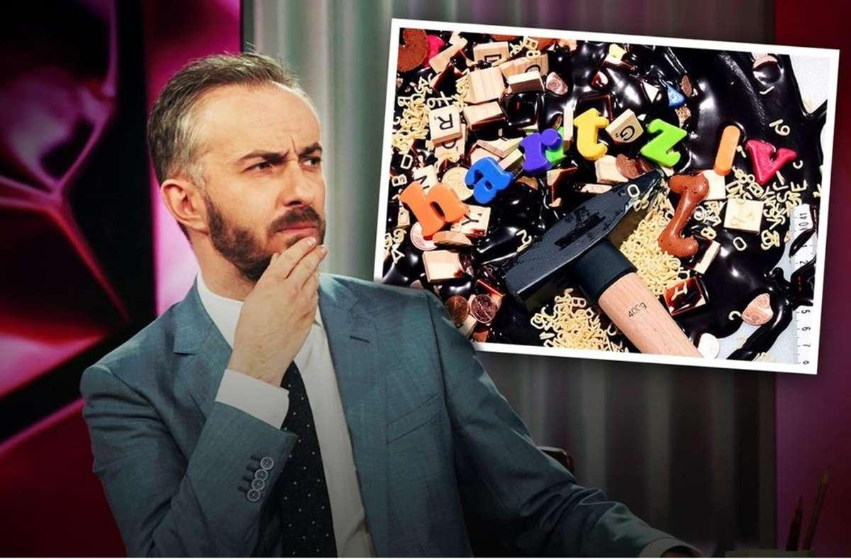 Jan Böhmermann fragt sich, warum es Hartz IV immer noch gibt. Foto: ZDF