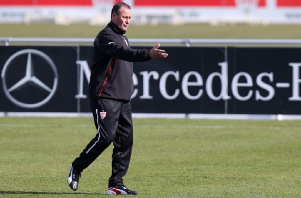 Beim VfB gibt jetzt Huub Stevens die Richtung vor. Klicken Sie sich in unserer Bilderstrecke durch die Stationen von Stevens Karriere. Foto: Baumann