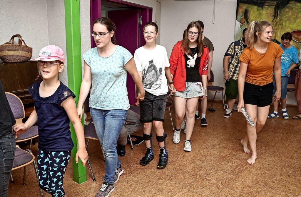 Die Kinder und Jugendlichen der Stara haben viel Spaß. Foto: factum/