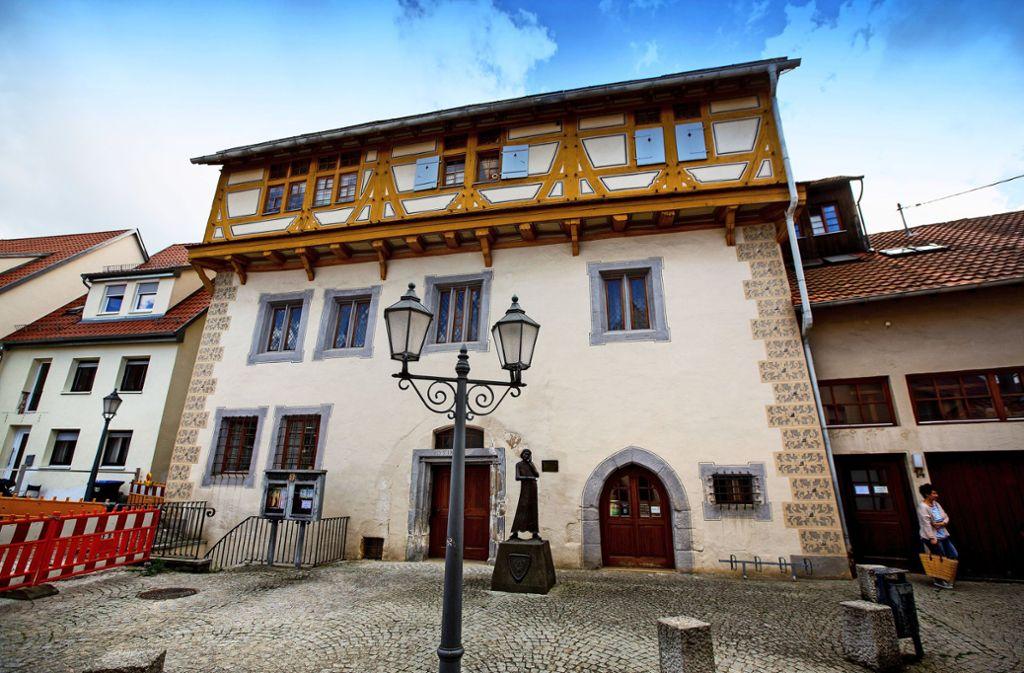 Das Große Haus in Neuffen ist das älteste Gebäude der Stadt. Foto: