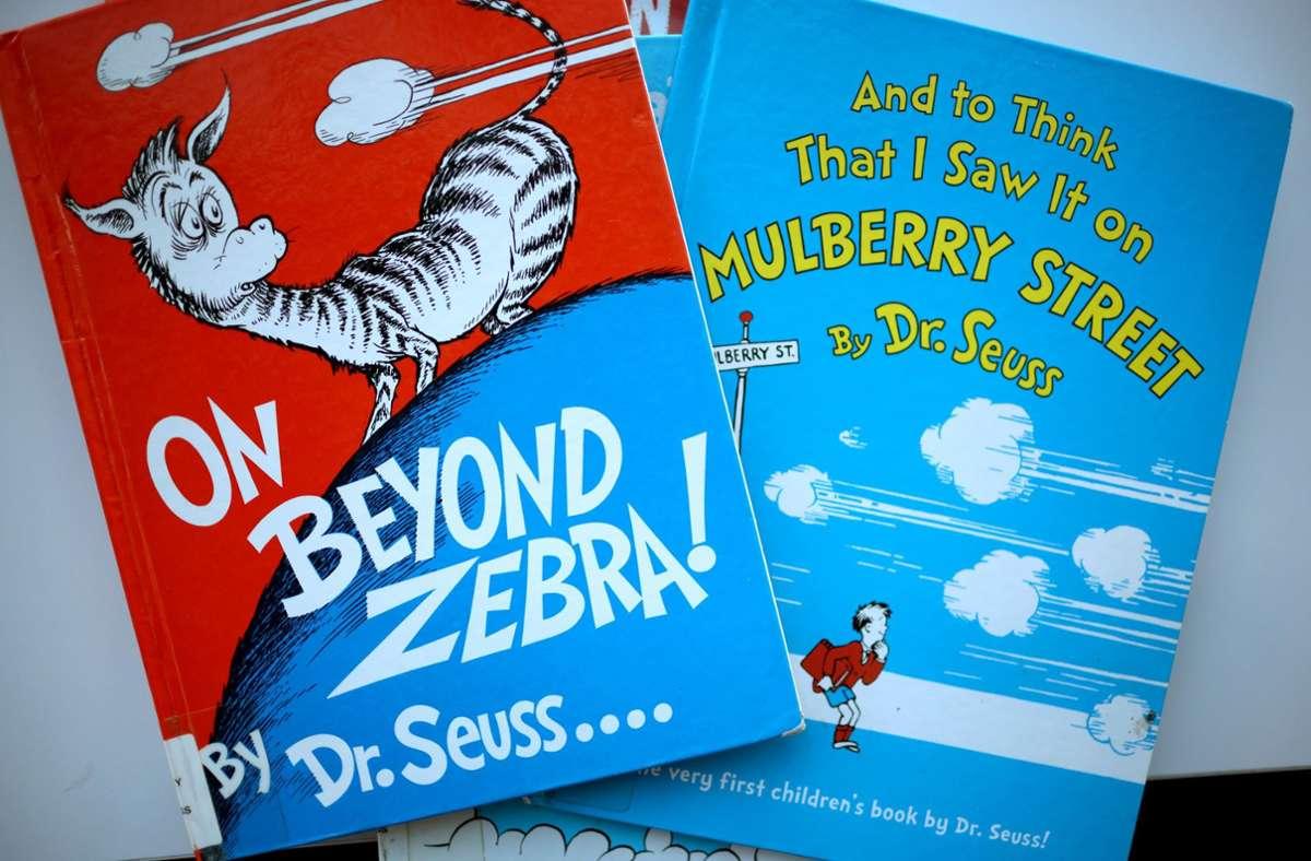 Dr. Seuss hat viele Kinderbuchklassiker geschrieben – aber einige davon erregen heute Anstoß. Foto: AFP/Scott Olson