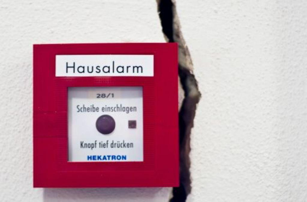 In Böblingen sind an ungefährt 40 Häusern durch BodenerhebungenRisse ausgetreten. (Symbolbild) Quelle: Unbekannt