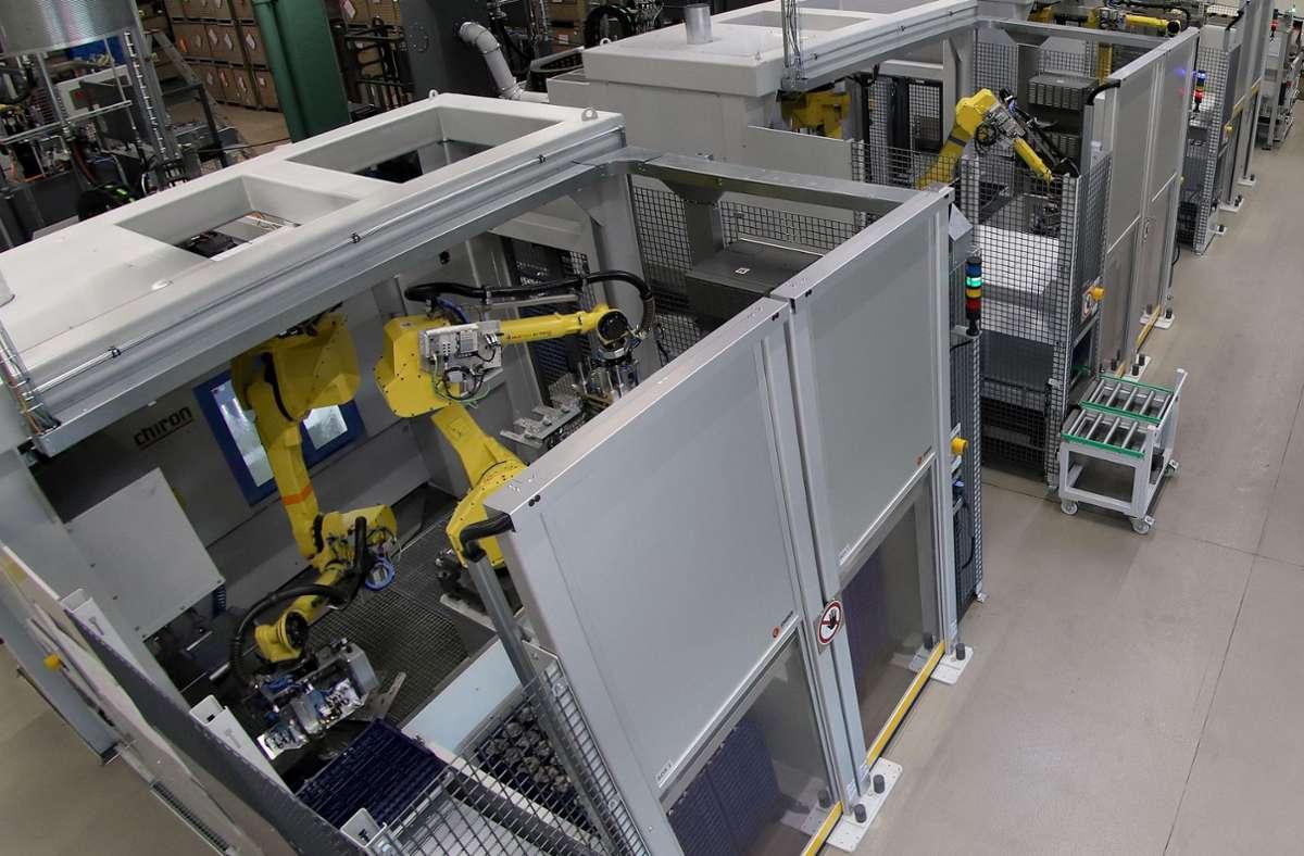 Stihl erweitert die Kapazitäten im Magnesium-Druckgusswerk in Weinsheim. Foto: Stihl