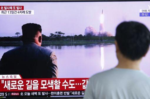 Nordkorea schießt erneut Raketen in die Luft