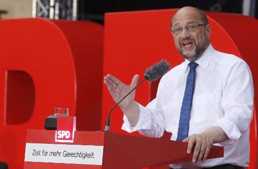 Martin Schulz im Livestream