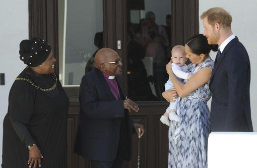 Kleiner Royal bekommt in Südafrika einen Spitznamen