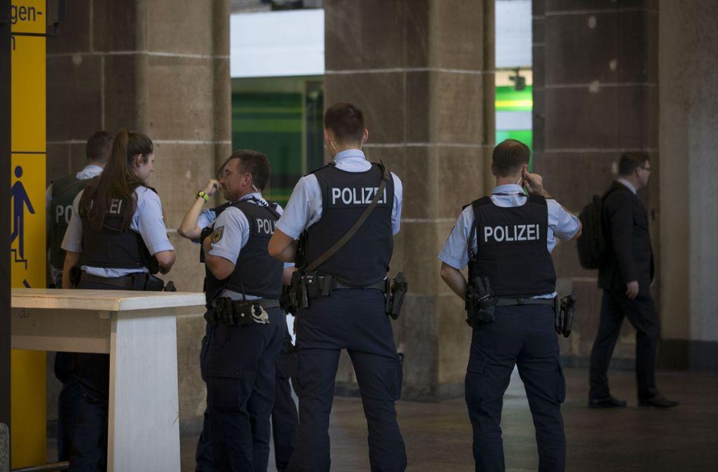 Der Bahnhof ist in der Nacht zum Mittwoch für eine Polizeiübung gesperrt. Foto: Lg/Piechowski (Symbolbild)