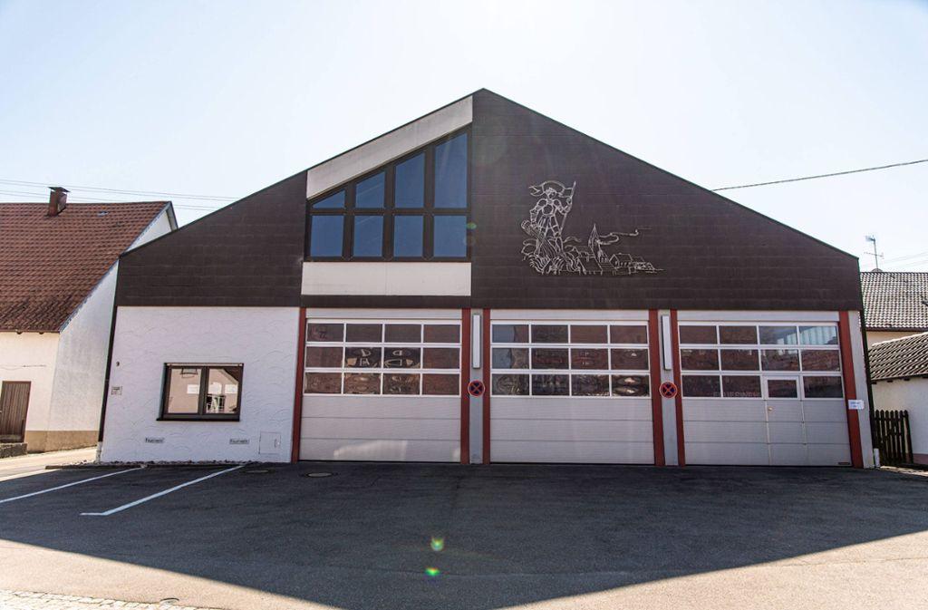 In das Gerätehaus der Feuerwehr in Hildrizhausen wurde eingebrochen. Foto: 7aktuell.de/Gruber