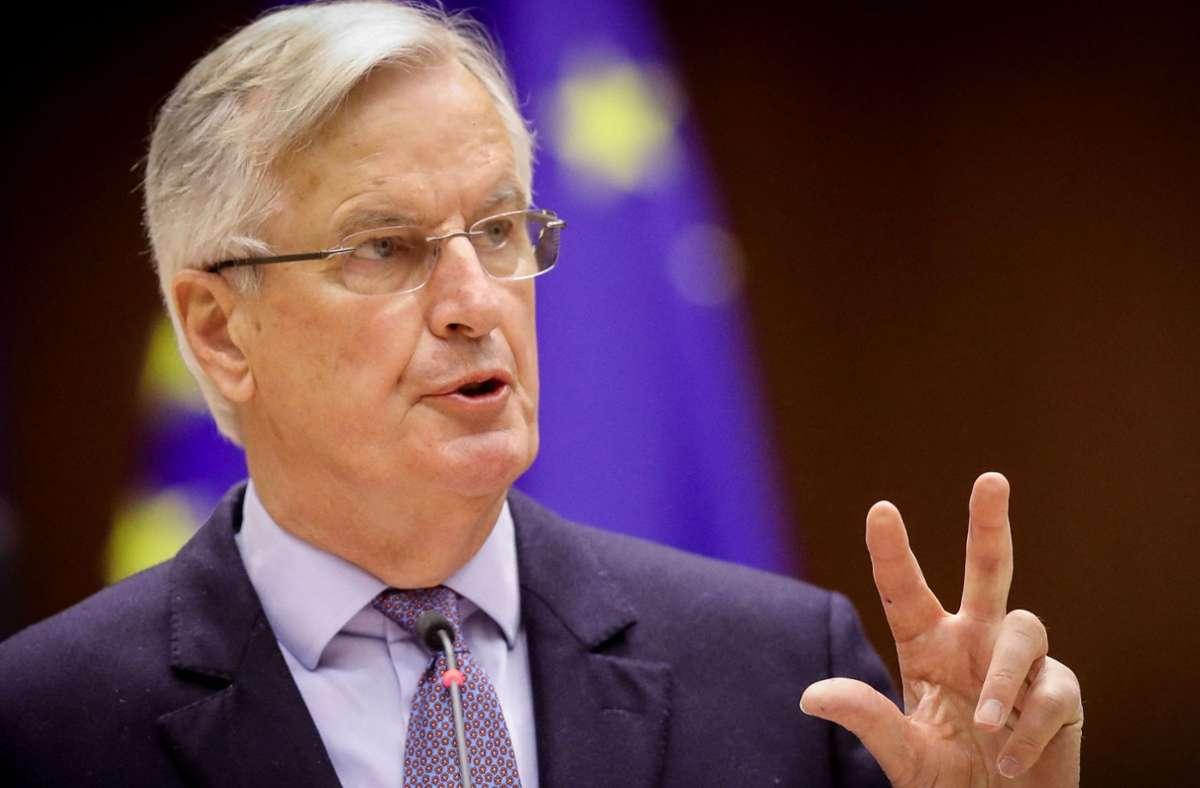 Michel Barnier gibt in seinem Buch tiefe Einblicke in der Verlauf der Brexit-Verhandlungen. Foto: AFP/OLIVIER HOSLET