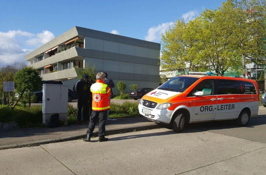 Über die Hintergründe des Streits an der Bockelstraße wusste die Polizei bisher noch nichts. Foto: SDMG