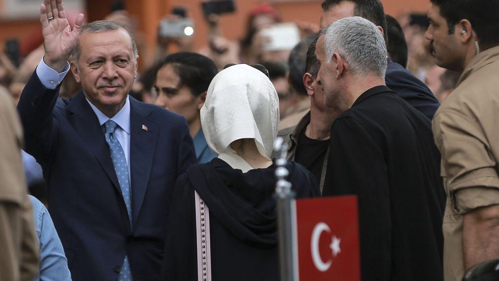 Präsident Erdogan erklärt sich zum Sieger