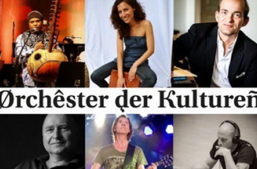 Start  mit dem Orchester der Kulturen