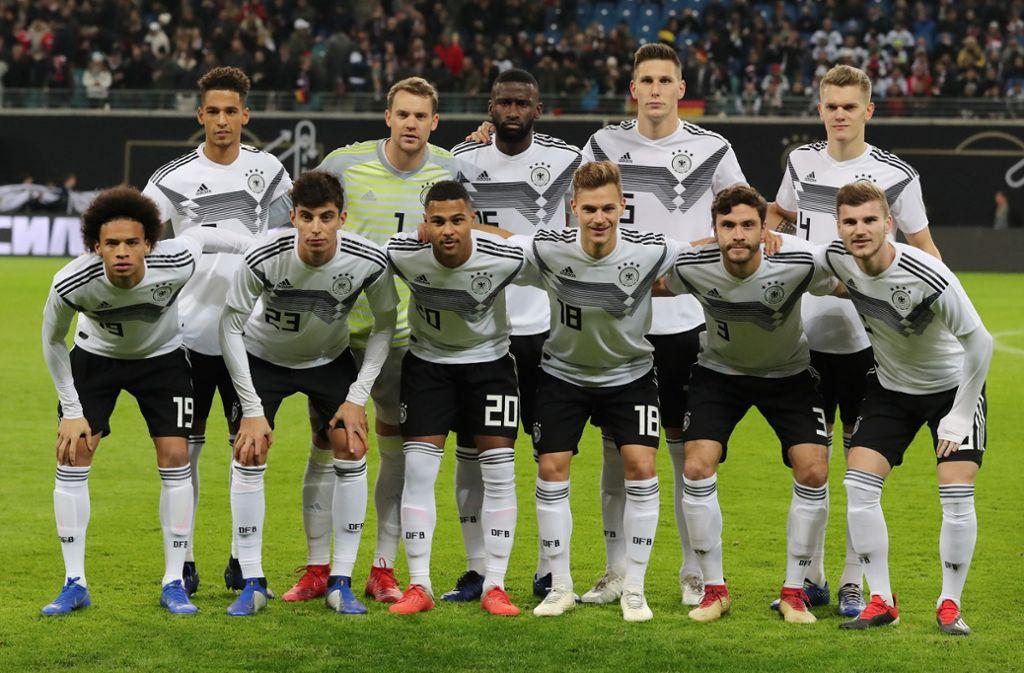 Beim Länderspiel gegen Russland waren fünf Spieler mit VfB-Vergangenheit in der Startelf. Foto: dpa