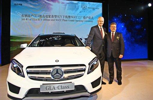 Mercedes bleibt in China auf dem Gas