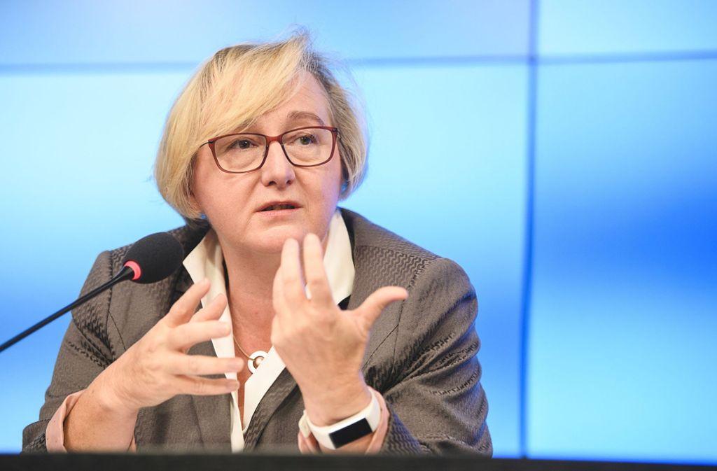 Unter dem Verdacht der Mauschelei: Ministerin Theresia Bauer, Grüne Foto: dpa