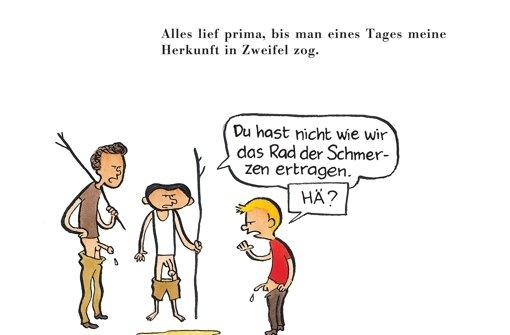 """Ausschnitt aus dem Comic """"Meine Beschneidung"""" Foto: Reprodukt/Riad Sattouf"""