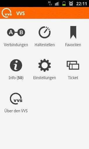 vvs app passwort vergessen