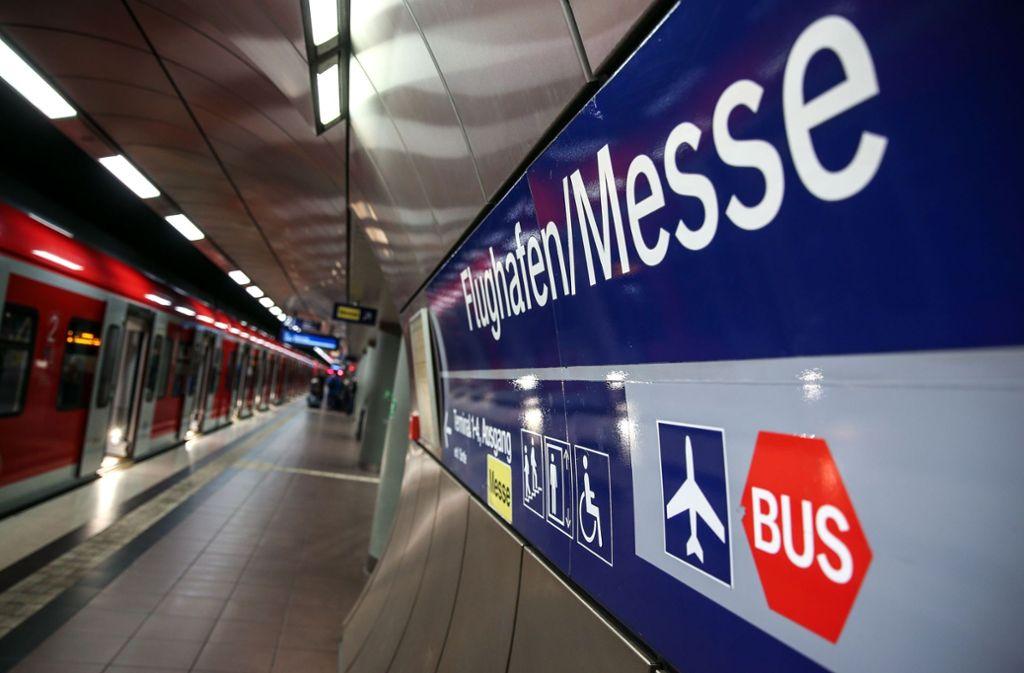 Bis auch Fernzüge den Flughafen ansteuern können wird es Ende 2025 werden, für die Gäubahn sogar noch später. Foto: Lichtgut/Leif Piechowski