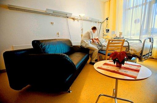 Alle  großen Stuttgarter Kliniken haben Palliativstationen eingerichtet. Foto: Steinert
