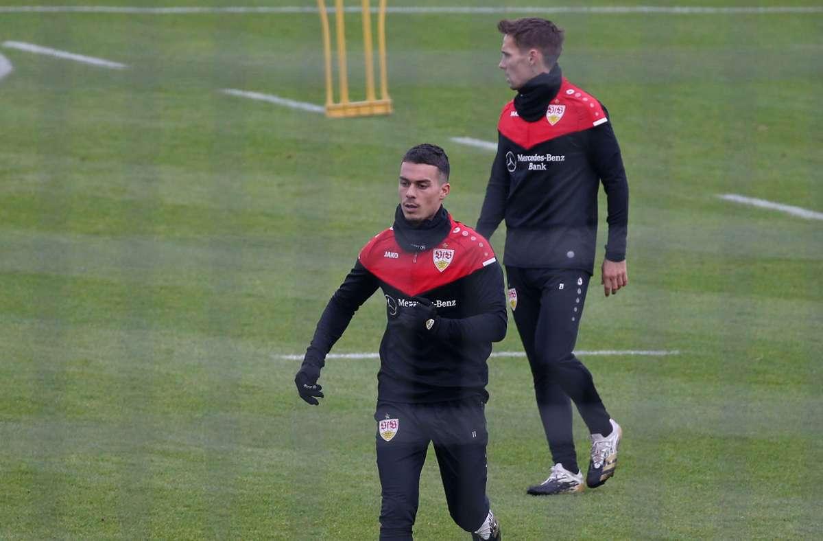 Wie geht es für Erik Thommy und Philipp Klement beim VfB Stuttgart weiter? Foto: Pressefoto Baumann/Alexander Keppler