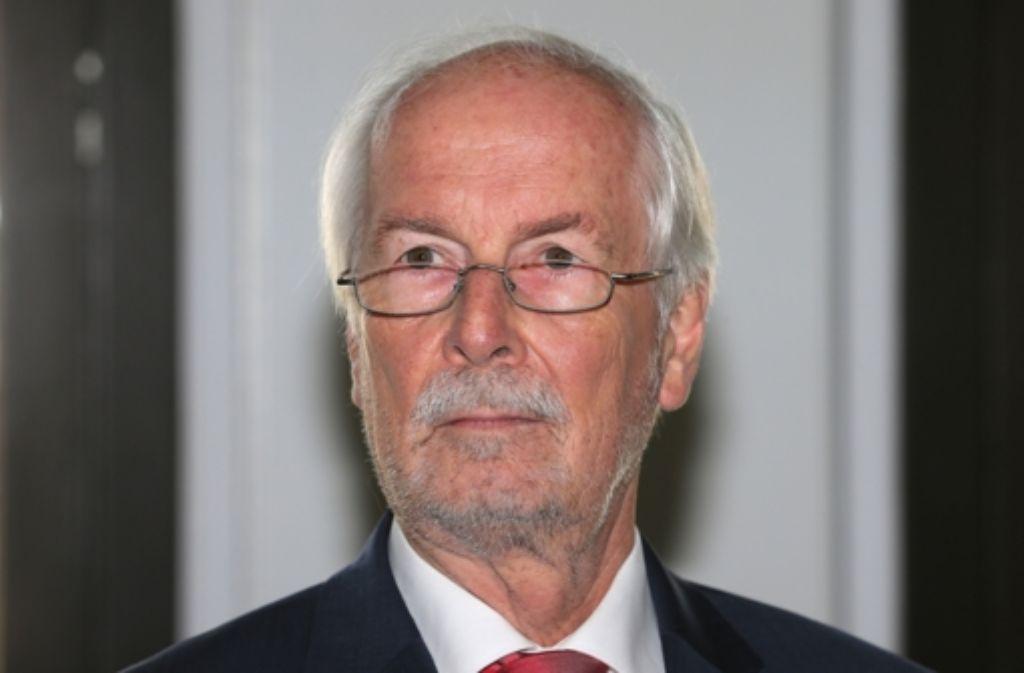 Generalbundesanwalt Harald Range Foto: dpa/AP