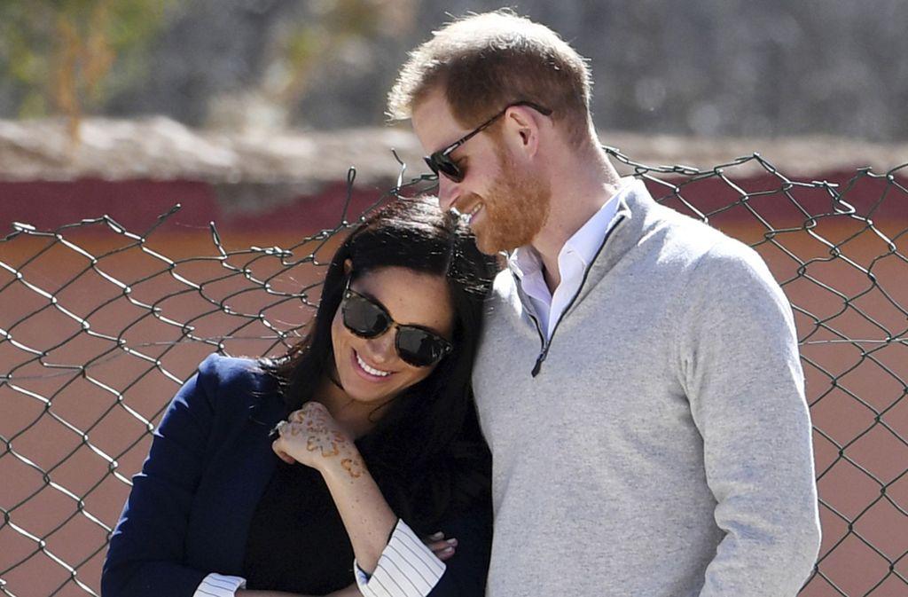 Herzogin Meghan und Prinz Harry sind Eltern eines kleinen Jungen. Foto: AP