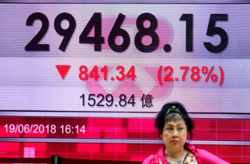 """Neue Strafzölle: China wirft USA """"Erpressung"""" vor"""