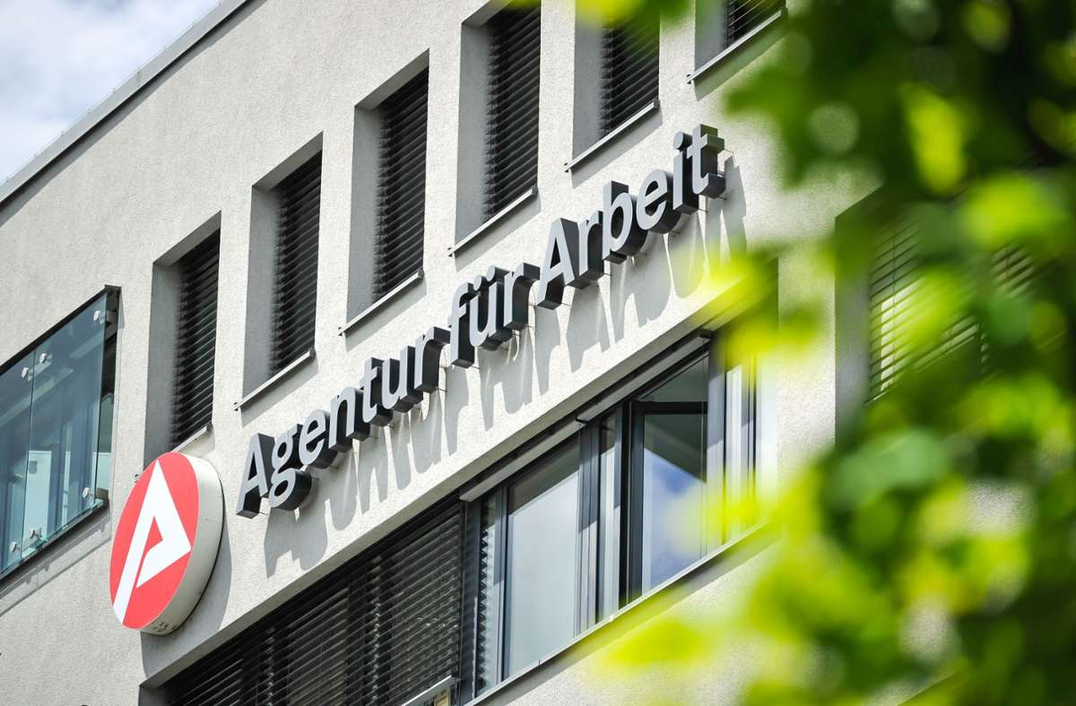Die Agentur für Arbeit in Stuttgart (Archivfoto). Foto: Lichtgut/Max Kovalenko