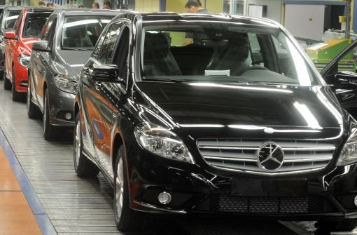 Mercedes startet die neue B-Klasse